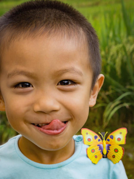 Butterfly Boy, China